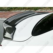 For 2008-2014 Mercedes C-class W204 Psm Sty Real Carbon Fiber Rear Trunk Spoiler