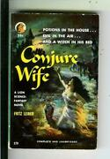 Conjure Wife By Leiber, Lion 179 Fantasy Horror Gga Vintage Pb, Maguire Signed