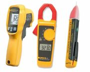 Fluke Fl62max+/323/1ac Clamp Meters - Type Standard Style, True Rms Yes