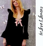 For Love And Lemons Claire Mini Dress S