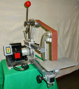 2hp Industrial Duty Compact Belt Sander For 1-2 X 54 60 And 72 Long Belts