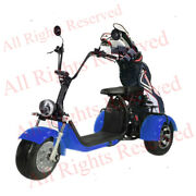 Soversky Electric Golf Carts Tricycle 3 Wheel Scooter 2000 Watts 20ah T7.1 White