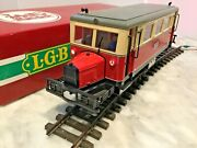 Lgb G Scale Made In Germany 2066 Powered Diesel In Box-work