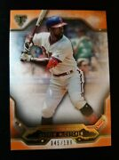 F73 2020 Topps Triple Threads Amber Parallel Andrew Mccutchen Phillies /199