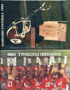 1984 Harvard Football Media Guide Only Listed