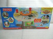New Fisher Price Servinand039 Surprises Kitchen And Table Kids Playset With Fun Sounds