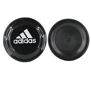 Vintage 90s Adidas Spell Out Humphrey Flyer Frisbee Flying Disc 9 Black White