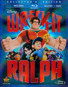 Wreck-it Ralph Blu-ray/dvd 2-disc Set New Sealed Disney Collectors Edition