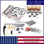 Engine Repair Overhaul Rebuild Kit And Bearing Shell Andphi23mm Fit For Vw Audi A4 1.8t