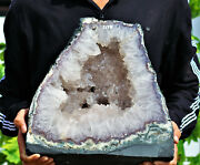 300mm White Cathedral Raw Crystal Quartz Cluster Genuine Natural Crystal Geode
