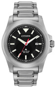 Brand New Citizen Menand039s Eco-drive Promaster Tough Silver Band Watch Bn0211-50e