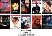 Tom Cruise 10 Film Dvd Collection Days Of Thunder/valkyrie/collateral/etc.