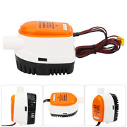 1100gph 12v Marine Diving Submersible Electric Extremely Efficient Bilge Pump Us