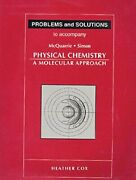 Student Solutions Manual For Physical Chemistry, Mcquarrie Paperback.+