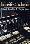 Universities And Their Leadership The William , Bowen Paperback+=