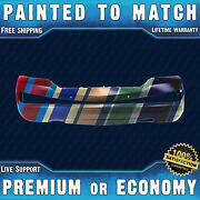 New Painted To Match - Front Bumper Replacement For 2009-2014 Lincoln Navigator