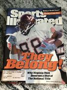 Sports Illustrated December 6 1999 Andre Davis Virginia Tech Hokies