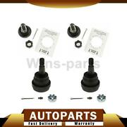 4x Moog Front Upper And Lower Susp Ball Joint For 1999-04 Grand Cherokee 4.0 4.7l