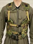 Rare Dutch Army Load Bearing Vest Dpm Camo Kl 1993 Wittock Industry Size L