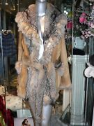 Genuine Fox Fur Reversible Jacket Modern Youthful Wow Hard To Find Italy Sale