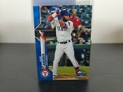 2020 Topps Complete Set Elvis Andrus Blue Parallel Limited /299 Series 2