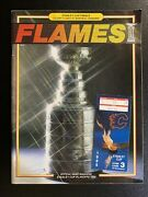 5/23/89 Calgary Flames Vs Montreal Canadiens Stanley Cup Finals Program And Ticket
