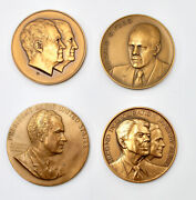 Vintage Inauguration Medals From Medallic Art Company U.s. Mint Franklin Mint