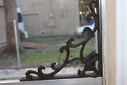 French Country Window Corner Corbels Bracket Accents Decor, 10 Inch, B-72