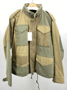 Bnwt Kolor Patchwork M65 Military Jacket Size 5 Xl L Made In Japan