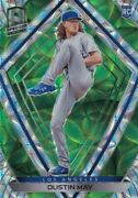 2020 Chronicles Spectra Prizms Neon Green /49 Rc Dustin May Dodgers Prizm B4492