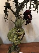 Katherine's Collection Lizard Candle Holder Set