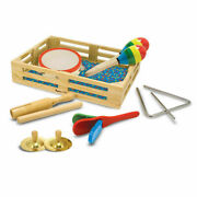 Melissa And Doug Band-in-a-box Various Musical Instruments New Expedited Shipping