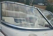 Starboard Curved Glass Windshield Panel Only Off 1995 Larson 194 Sei Br