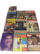 Assorted Lot Of 10 Vintage Boxing Magazines-1974-1999 Sports Illustrated