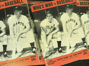 70 1948 Who's Who In Baseball Ralph Kiner And Johnny Mize Books Lot High Grade