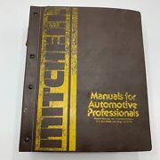 Vintage Michell Tune Up Service And Repair Domestic Cars Vol.1 Manuals 1973 - 1979