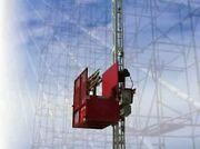 Hi-tech Rp2001 Freedom Construction Hoist Elevator 115and039 Tower Height
