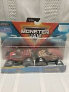 Monster Jam Double Down Showdown Northern Nightmare And Sasquatch 2-pack New
