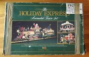 New Bright 1997 The Holiday Express Animated Train Set 380 - G Scale - Complete
