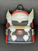 Loungefly X Marvel Thor Classic Cosplay Faux Leather Mini Backpack Nwt