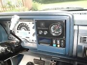 1988 - 1994 Chevy Gmc Storage Stereo Pocket Tach Switch Panel Tach Not Included