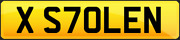 Private Cherished Registration Number Plate Stolen Stole It Funny Irony Robbed