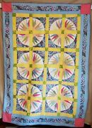 Easter Morning Handmade Quilt/wall Hanging Signed By Artist Clara Oleson