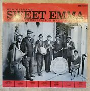 New Orleans Sweet Emma And Her Preservation Hall Jazz Band 1964 Lp Live Vps-2