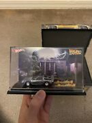 2011 Sdcc Hot Wheels Exclusive Back To The Future Delorean Case And Outer Box