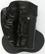 High Noon Holsters Speedy Spanky Black Leather Paddle Owb Holster For Cz 75b