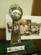 Bart Starr Signed Super Bowl One Packers Trophy