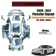 Xpel Ultimate Plus Precut Paint Protection Kit For Porsche Taycan 2020 No Roof