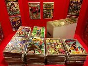Huge Prime 100 Comic Book Lot- Marvel And Dc Only- Free Shipping Vf+ To Nm+ All