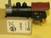 P-132-003 Shifter And 0-4-0 Cab 96 Boiler Casting/shell By Ahm Rivarossi New